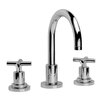 Infinity Widespread Bathroom Faucet with Double Cross Handles