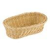 Paderno World Cuisine Reinforced Oval Polyrattan Bread Basket