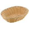 Paderno World Cuisine Oval Polyrattan Bread Basket (Set of 6)