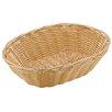 Paderno World Cuisine Oval Polyrattan Bread Basket