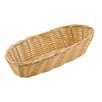 Paderno World Cuisine Oblong Polyrattan Bread Basket