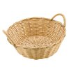 Paderno World Cuisine Dual-handled Round Polyrattan Bread Basket (Set of 6)