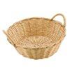 Paderno World Cuisine Dual-handled Round Polyrattan Bread Basket