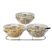 "Paderno World Cuisine 5.38"" Bowls, Lids and Stand Set"