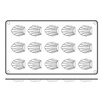 Paderno World Cuisine Non Stick Silicone Madeleine Mold (Set of 2)