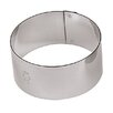 "Paderno World Cuisine 1.63"" Stainless Steel Round Pastry Ring (Set of 6)"