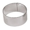 """Paderno World Cuisine 2"""" Stainless Steel Round Pastry Ring (Set of 6)"""