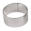"""Paderno World Cuisine 2.38"""" Stainless Steel Round Pastry Ring (Set of 6)"""