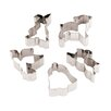 Paderno World Cuisine 12 Piece Stainless Steel Easter Cookie Cutters Set
