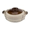 Paderno World Cuisine Dual-Handled Clay Cooking Pot