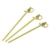 Paderno World Cuisine Disposable Looped Bamboo Skewers (Pack of 200)