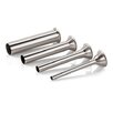 Paderno World Cuisine Stainless Steel Funnel Attachment