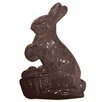 "Paderno World Cuisine 5.88"" Bunny Chocolate Mold (Set of 3)"