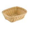 Paderno World Cuisine Rectangular Polyrattan Bread Basket (Set of 2)
