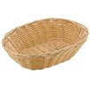 Paderno World Cuisine Polyrattan Oval Bread Basket (Set of 8)