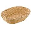 Paderno World Cuisine Polyrattan Oval Bread Basket