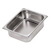Paderno World Cuisine Stainless Steel Hotel Pan - 1/3 in Silver