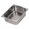 Paderno World Cuisine Hotel Pan with Retractable Handles - 1/3 in Silver