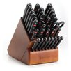 Wusthof Gourmet 36 Piece Cherry Knife Block Set