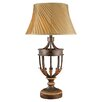 "Minka Ambience 36.25"" H Table Lamp with Bell Shade"
