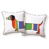Naked Decor Dachshund Pillow