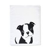 Naked Decor Boston Terrier Tea Towel