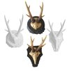 Naked Decor Forest Antlers Wall Plaque (Set of 4)