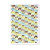 Naked Decor Doxie Pattern Tea Towel