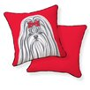 Naked Decor Shih Tzu Pillow