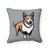 Naked Decor Corgi Pillow