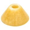 """<strong>3.5"""" Cone-shaped Onyx Lamp Shade</strong> by LBL Lighting"""