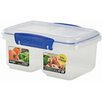 Sistema USA 31-Oz. Klip It Split Food Container