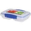 Sistema USA Klip It 11.8-Oz. Split Food Container