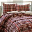 <strong>Eddie Bauer</strong> Northwood Plaid Down Alternative Comforter Set