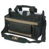 "Custom Leathercraft 16"" 15 Pocket Center Tray Tool Bag"