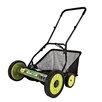 "Snow Joe 18"" Manual Reel Mower with Grass Catcher"