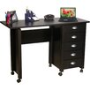"<strong>VHZ Office 43"" W Mobile Craft Computer Desk</strong> by Venture Horizon"