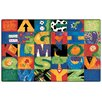 Carpets for Kids Printed Hide n'Seek ABC Area Rug