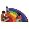 <strong>Rainbow Rows Corner Kids Rug</strong> by Carpets for Kids