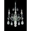 Schonbek Versailles Rock Crystal Three Light Wall Sconce