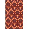 Malene b Voyages Cherry Ikat Area Rug
