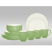 <strong>Colorwave 16 Piece Coupe Place Setting</strong> by Noritake