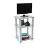 "RTA Home And Office White Lines 20"" TV Stand"