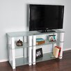 "RTA Home And Office White Lines 55"" TV Stand"