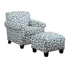 <strong>Winnetka Arm Chair and Ottoman</strong> by Handy Living