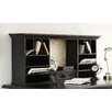 "Steve Silver Furniture Bella 20"" H x 48"" W Desk Hutch"