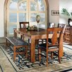 Steve Silver Furniture Lakewood 6 Piece Extendable Dining Set