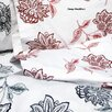 <strong>Tribeca Living</strong> Flower Printed Extra Deep Pocket Flannel Sheet Set