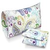 Tribeca Living Paisley Garden Printed Sheet Set