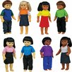 <strong>Get Ready Kids</strong> Dolls Set (Set of 8)